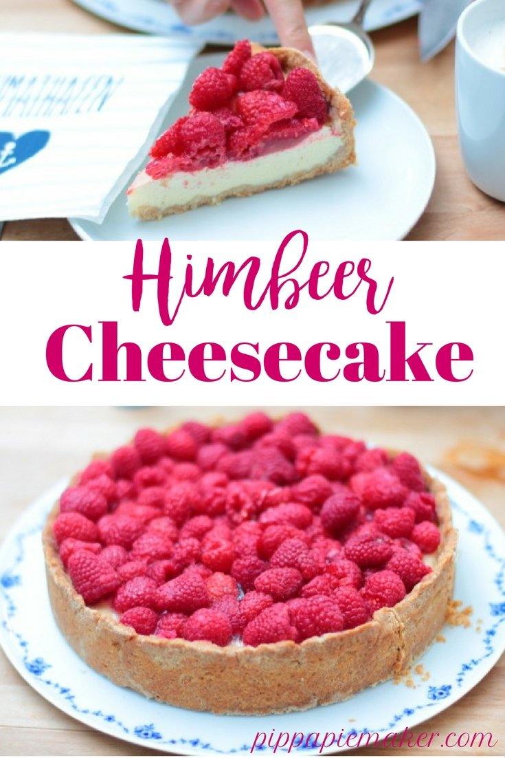 Himbeer Cheesecake by pippapiemaker.com