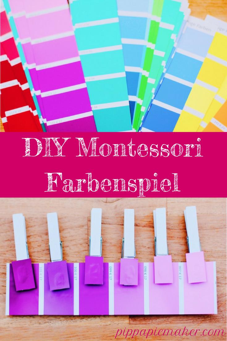 Montessori Farbenspiel DIY