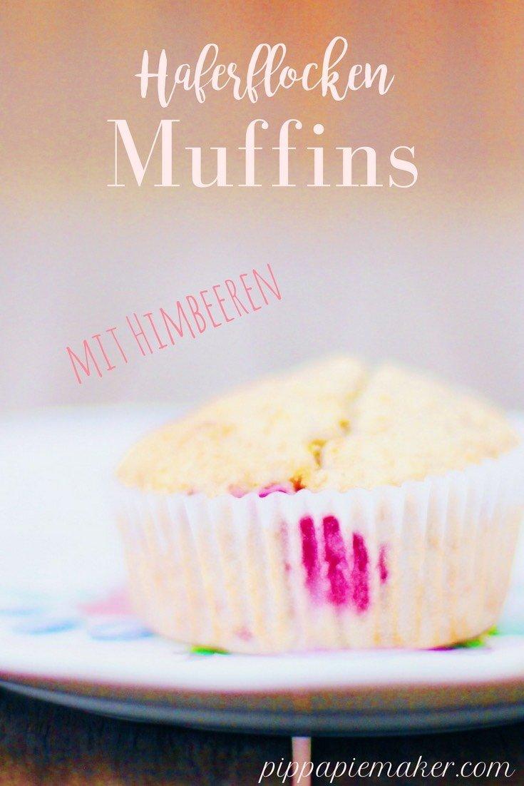 Himbeer Haferflocken Muffins by pippapiemaker.com