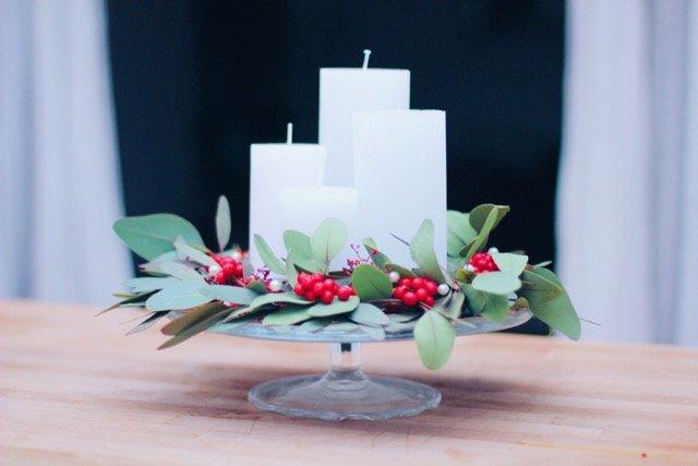 eukalyptus adventskranz pippa pie maker. Black Bedroom Furniture Sets. Home Design Ideas