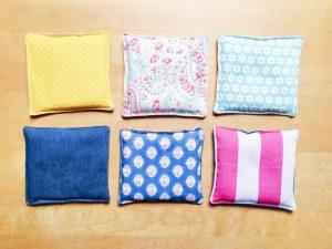 spelt/lavender cushions by pippapiemaker.com
