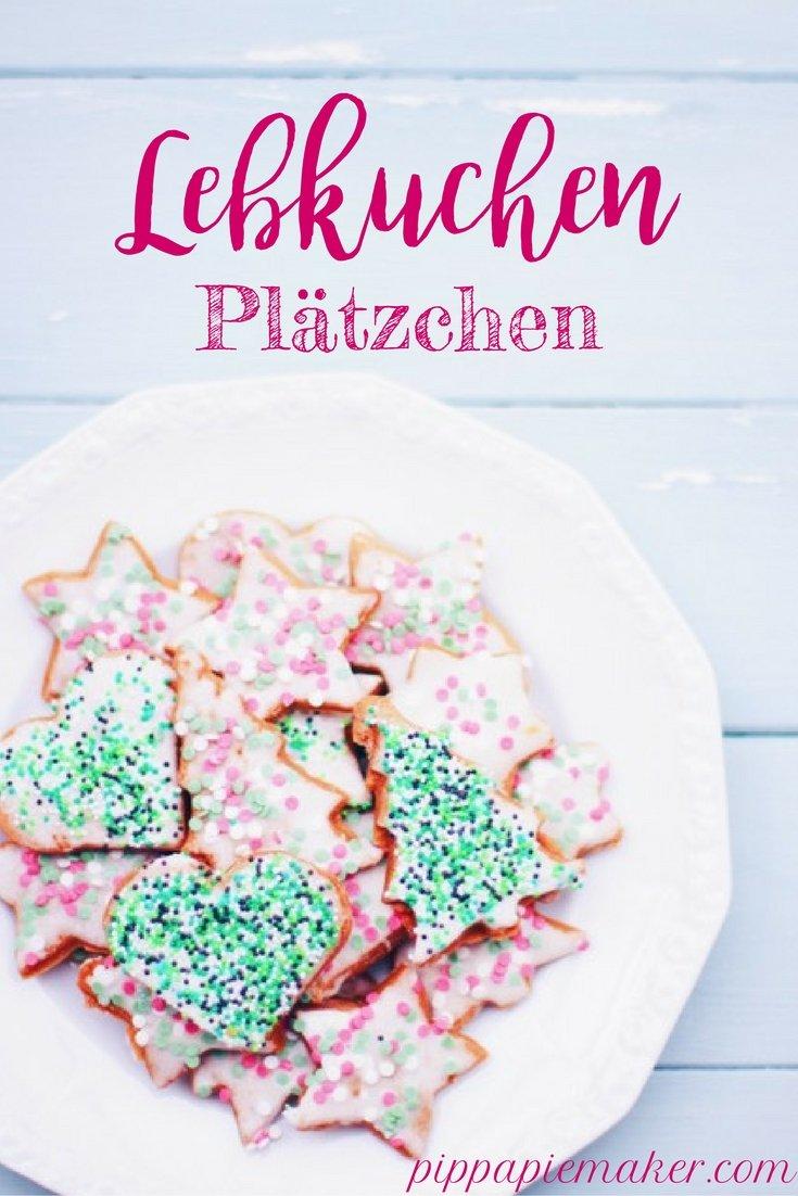 Lebkuchen Plätzchen by pippapiemaker.com