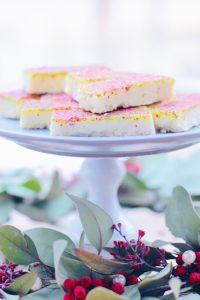 Shortbread with Matcha Icing by pippapiemaker.com