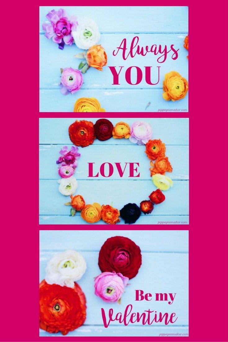 Freebie: Valentinskarten by pippapiemaker.com