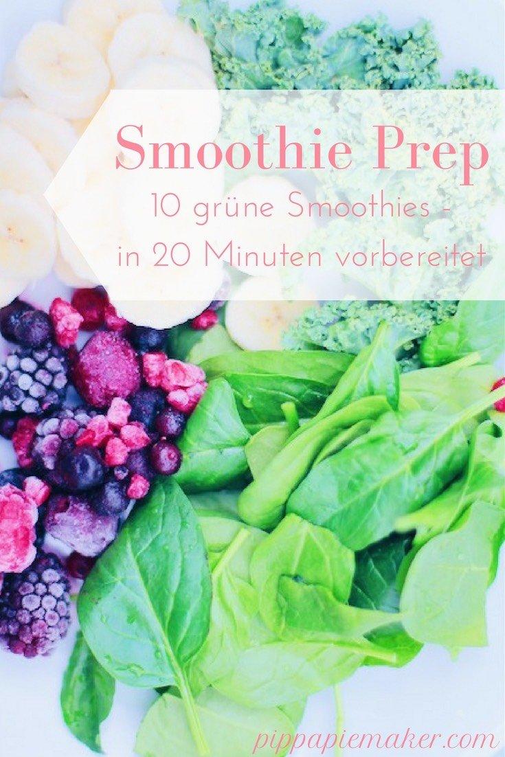 Mit diesen selbstgemachten Smoothie Packungen ist dein gesunder Superfood Start in den Tag ganz simpel! Eine Einkaufsliste für 10 Smoothie Portionen, eingefroren in 10 Gefrierbeuteln. Der grüne Smoothie ist gut für deine Haut und für dein Immunsystem. Ein ganz einfaches Rezept!