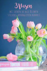 3 Vasen, die man braucht