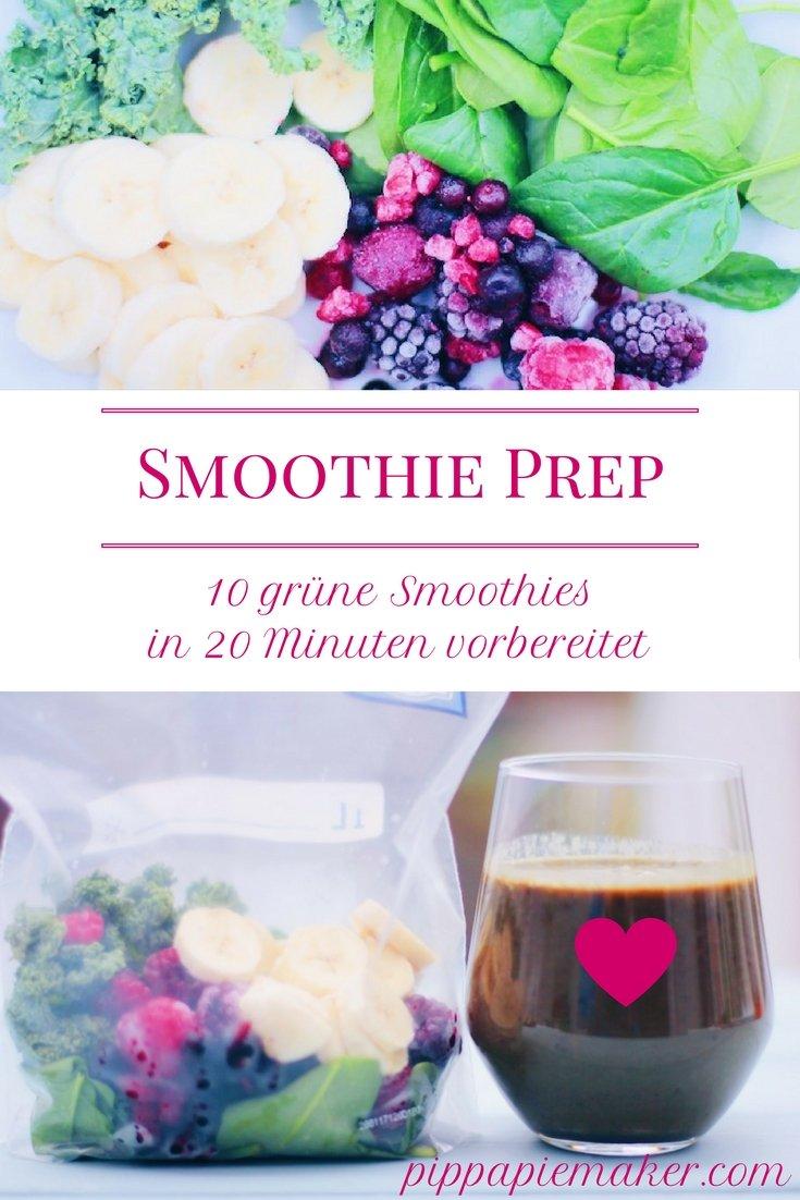 Smoothie Vorbereitung by pippapiemaker.com
