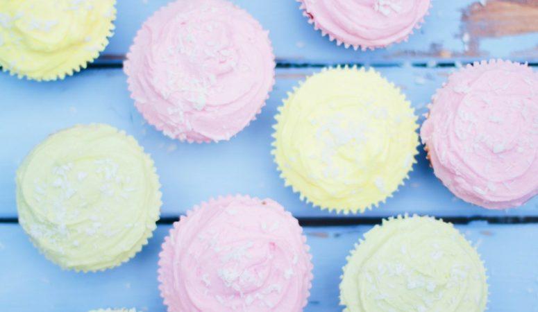 Vanilla Cupcakes – in 5 Varianten