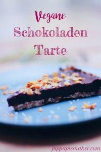 Vegane Schokoladentarte by pippapiemaker.com