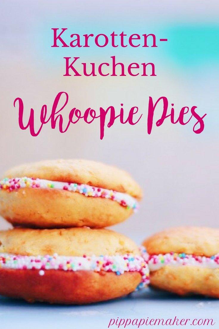 Karottenkuchen Whoopie Pies by pippapiemaker.com