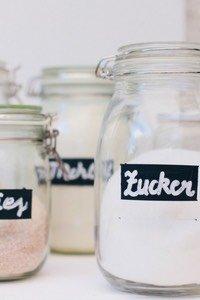 DIY Tafelfarbe Etiketten by pippapiemaker.com