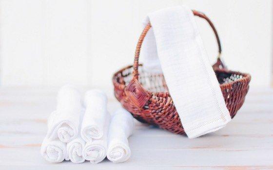 Upcycling Idee: Stoffservietten für Kinder
