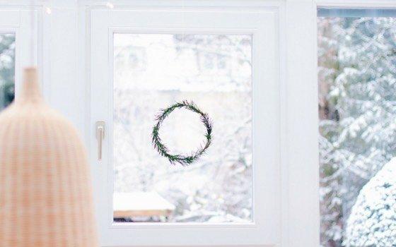 Scandi Fensterkranz