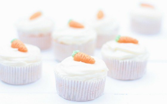 Karotten-Ingwer Cupcakes