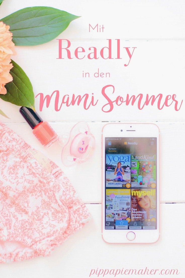 Readly ist die perfekte App für die kleine Mami Auszeit zwischendurch: einfach in deinen Lieblingszeitschriften schmökern so viel du willst und wann du dazu kommst!