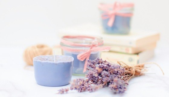 Duftkerzen gießen aus Kerzenresten