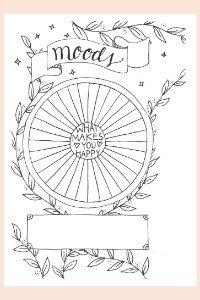 Ein komplettes, undatiertes Bullet Journal zum Ausdrucken, jetzt für kurze Zeit kostenlos. 20 Hand gezeichnete Seiten, die immer wieder ausgedruckt und als Kalender und Planer benutzt werden können!