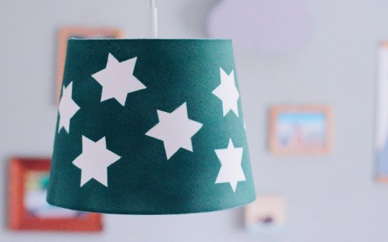 Ikea Hack: Lampe fürs Kinderzimmer