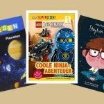 Die schönsten Erstlesebücher für Jungs. Von Fußball, Weltraum, Dinosaurier bis natürlich Ninjago, lauter Geschichten, die Jungs motivieren selbst zu lesen!