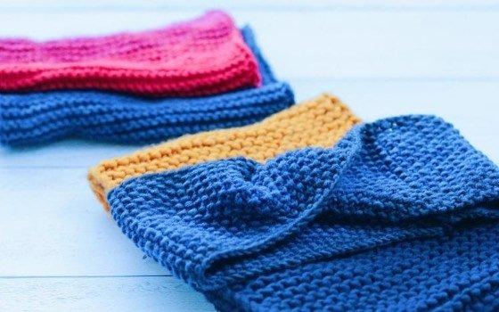 Loop für Kinder stricken