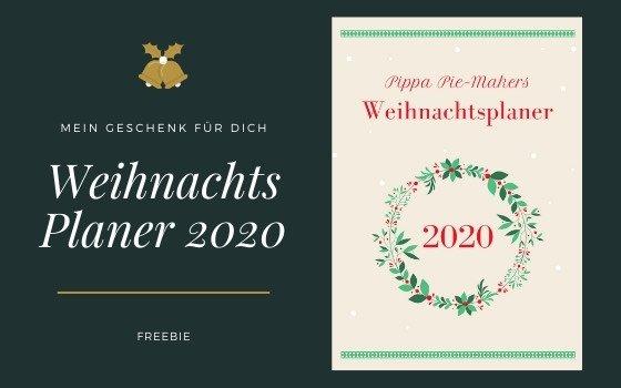 Der Weihnachtsplaner 2020 als Freebie